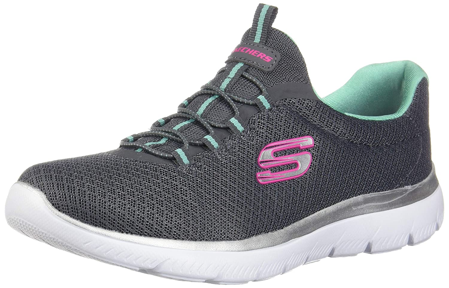 da5dd9a43225e Skechers Women 12980 Low-Top Trainers: Amazon.co.uk: Shoes & Bags