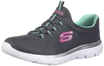 75ab249bc4f3f Skechers Women 12980 Low-Top Trainers: Amazon.co.uk: Shoes & Bags