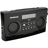 Sangean PR-D5P Portable Radio with Digital Tuning and RDS (Black)