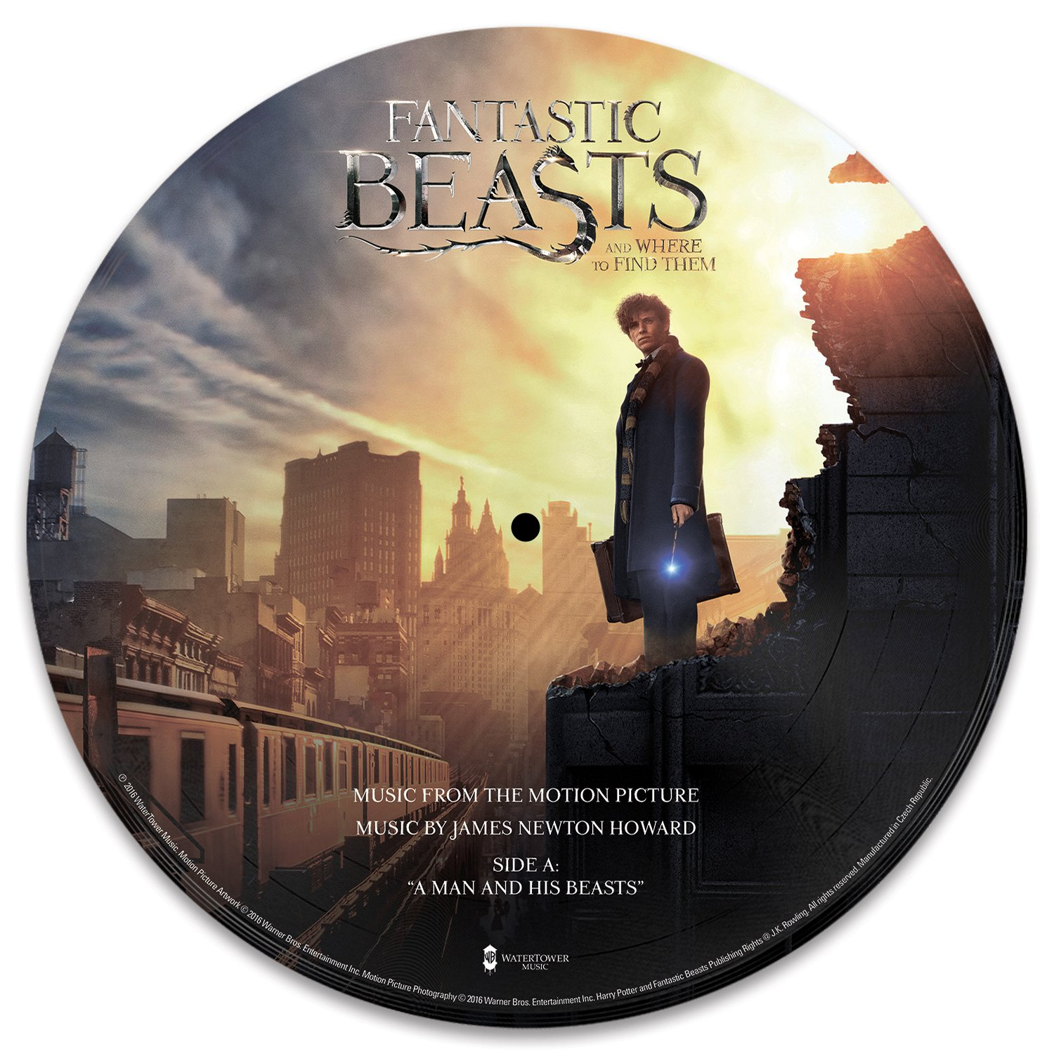 Full Track List For The Fantastic Beasts And Where To Find