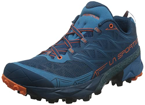 La Sportiva Akyra Trail Running Shoes - SS19-7.5 - Blue