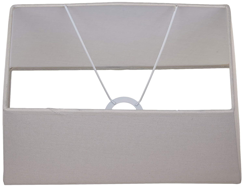 rectangulaire Better /& Best 35X20 Abat-jour en lin 35 x 20 cm dimensions inf/érieures : 34 x 19 ; sup/érieur : 28,5 x 15 ; hauteur : 21 cm, taupe