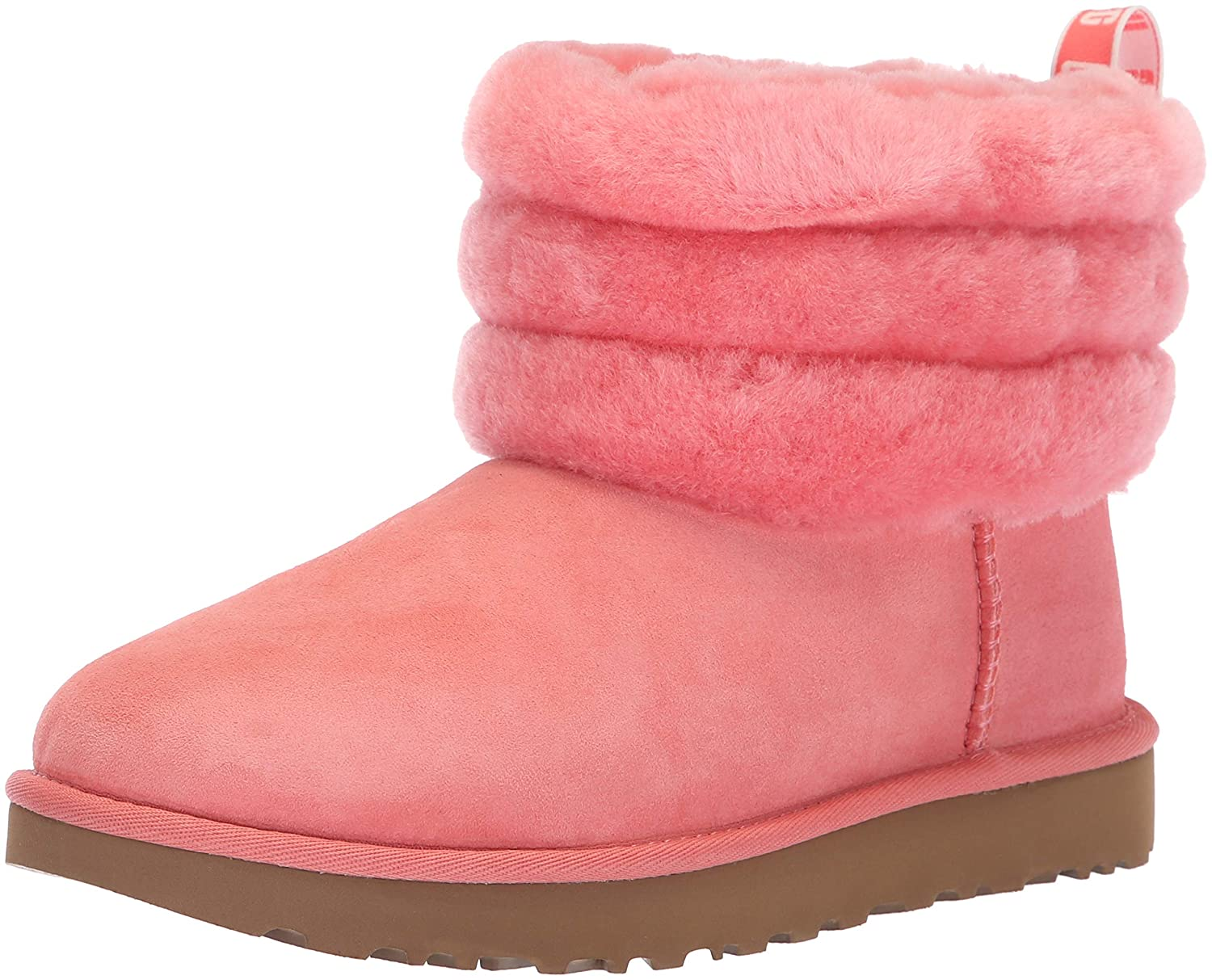 71ea67097bb UGG Women's W Fluff Mini Quilted Fashion Boot, Lantana, 12 M US ...