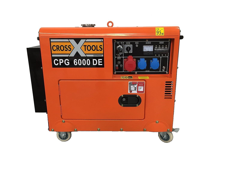 Cross Tools 68036 CPG 6000 DE Diesel Stromerzeuger Stromaggregat ...