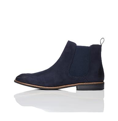05a6a86987ea4f FIND Classic Herren Chelsea-Boots in Wildleder-Optik