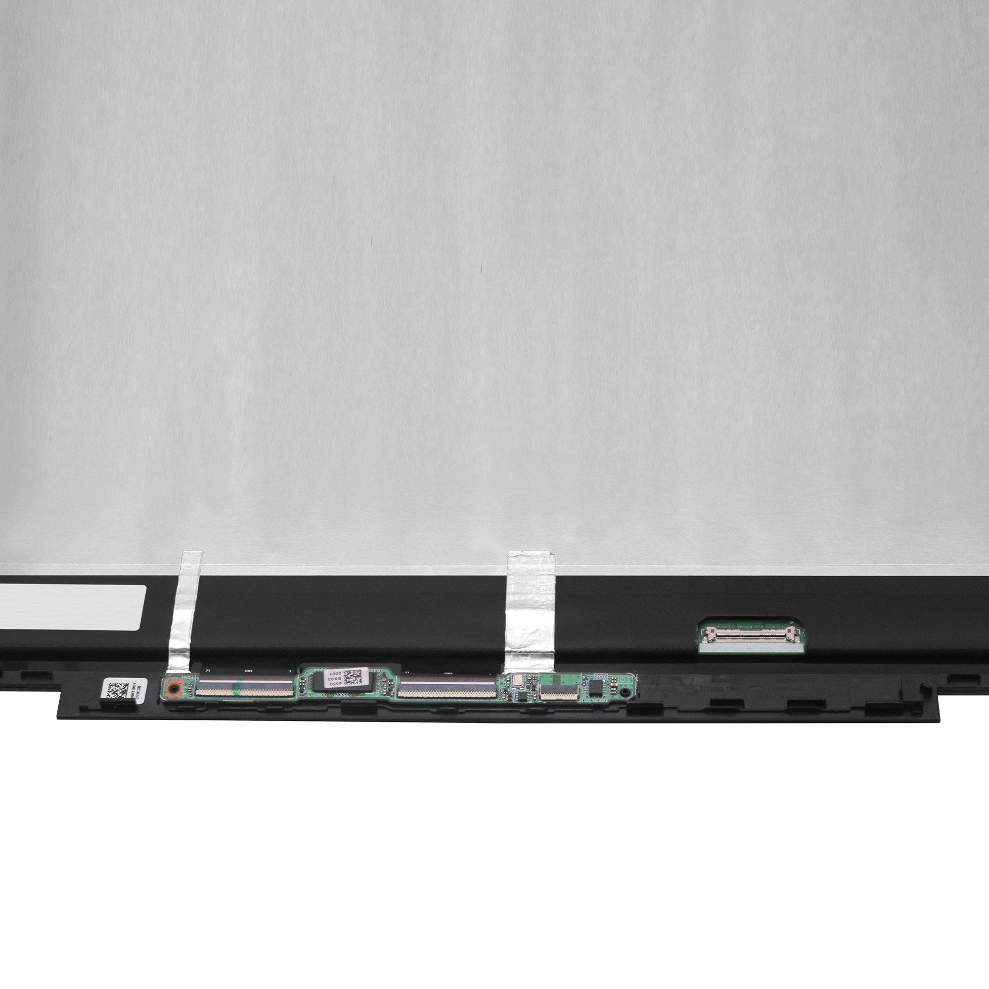 LCDOLED 15.6'' FullHD IPS LCD Touch Screen Digitizer Assembly + Bezel + Board for HP Envy x360 15-bq 15-bq000 15-bq100 15m-bq000 15m-bq100 15m-bq021dx 15m-bq121dx 15-bq175nr 15-bq075nr 15-bq051nr by LCDOLED (Image #3)