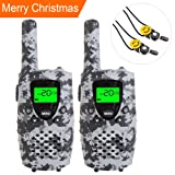 Amazon Price History for:E-wor Walkie Talkies For Kids ,22 Channels FRS/GMRS UHF Kids Walkie Talkies, 2 Way Radios 4 Miles Walkie Talkies Kids Toys With Flashlight, 1 Pair,Camo Grey