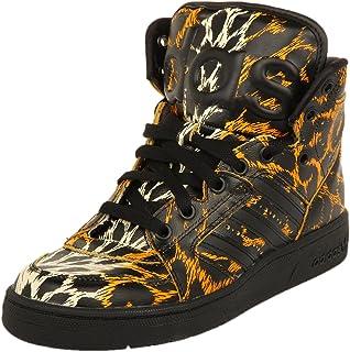 buy popular 6d022 9b913 adidas Originals Js Instinct Hi Leopard, Chaussures en Forme de Bottines  Homme
