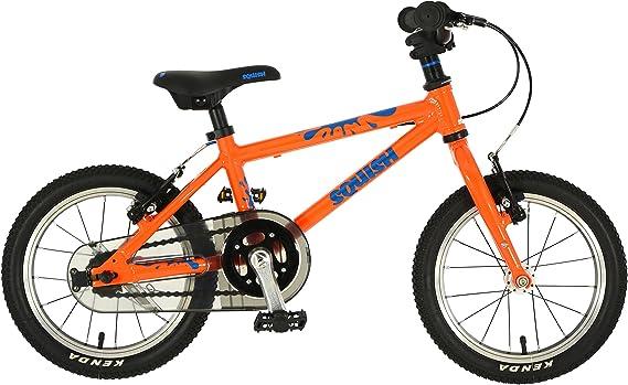 Squish 14 naranja Junior bicicleta híbrida 2018: Amazon.es ...