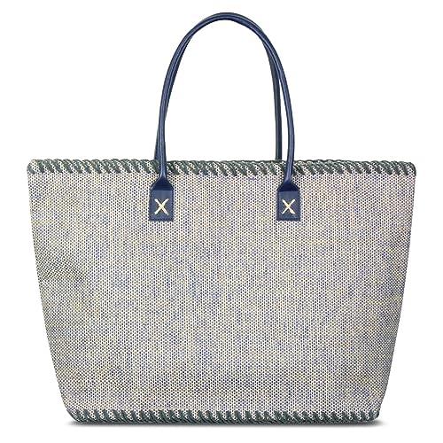 6c8a62226d Amazon.com  Zodaca Jute Shoulder Lightweight Tote Bag