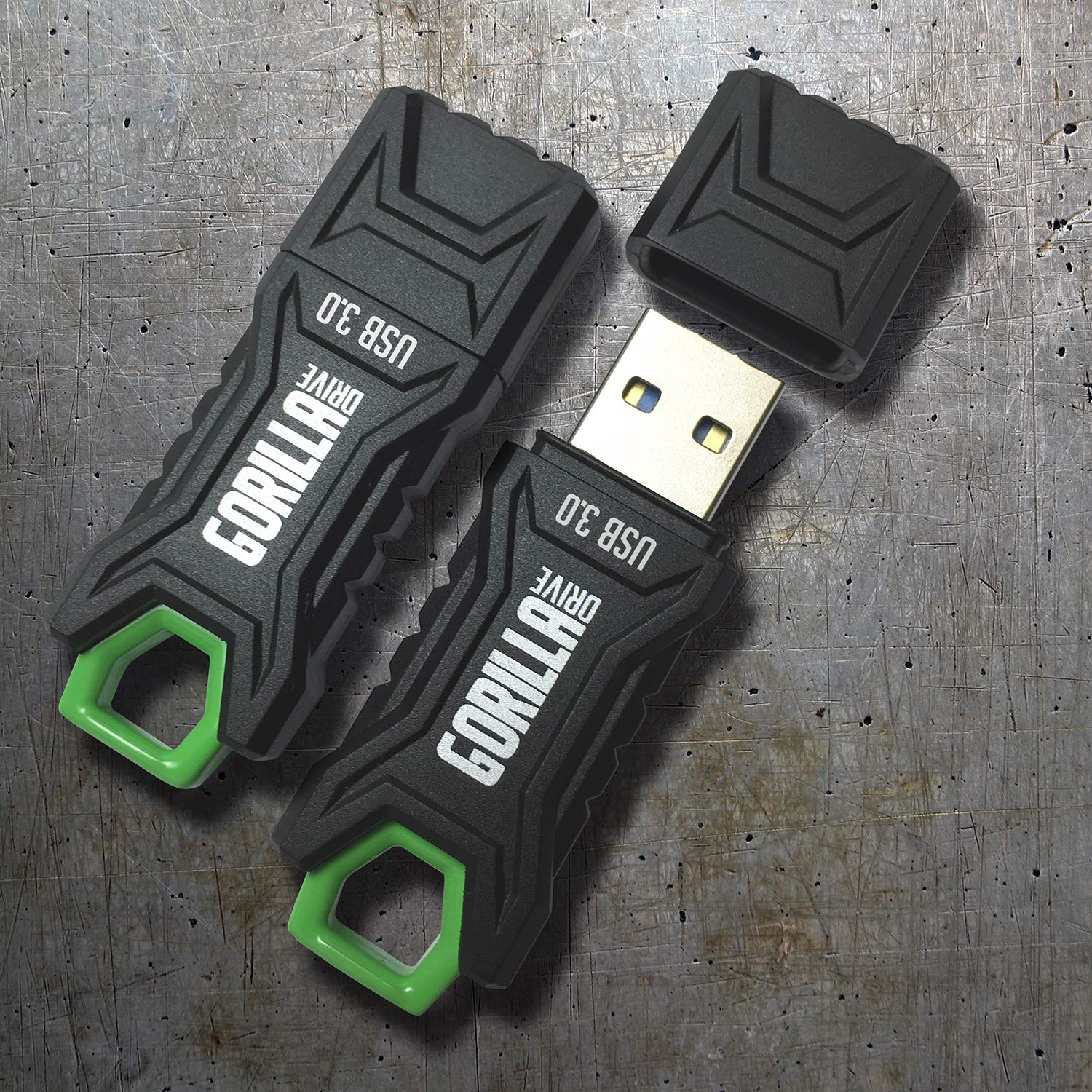 GorillaDrive 3.0 Ruggedized 256GB USB Flash Drive (5-Pack) by GORILLADRIVE (Image #5)