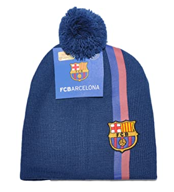 Official Licensed FC Barcelona Embroidered Winter Hat Cap for Boys Girls  37249423232