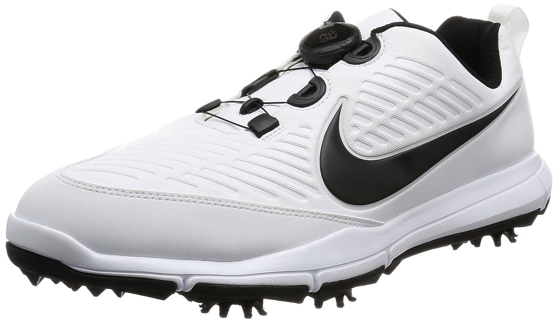 [ナイキゴルフ] ゴルフシューズ エクスプローラー 2 ボア 849959 B00AYZ9MCI 25.5 cm 3E ホワイト/ホワイト/ピュアプラチナ/メタリックシルバー