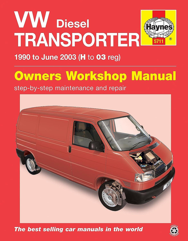 volkswagen transporter t4 haynes manual repair manual workshop rh amazon co uk vw transporter t4 service manual free download volkswagen transporter t4 workshop manual download