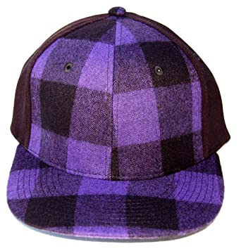 54e10946819 DECKY Plaid Adjustable Flex Caps Baseball Cap (Adjustable