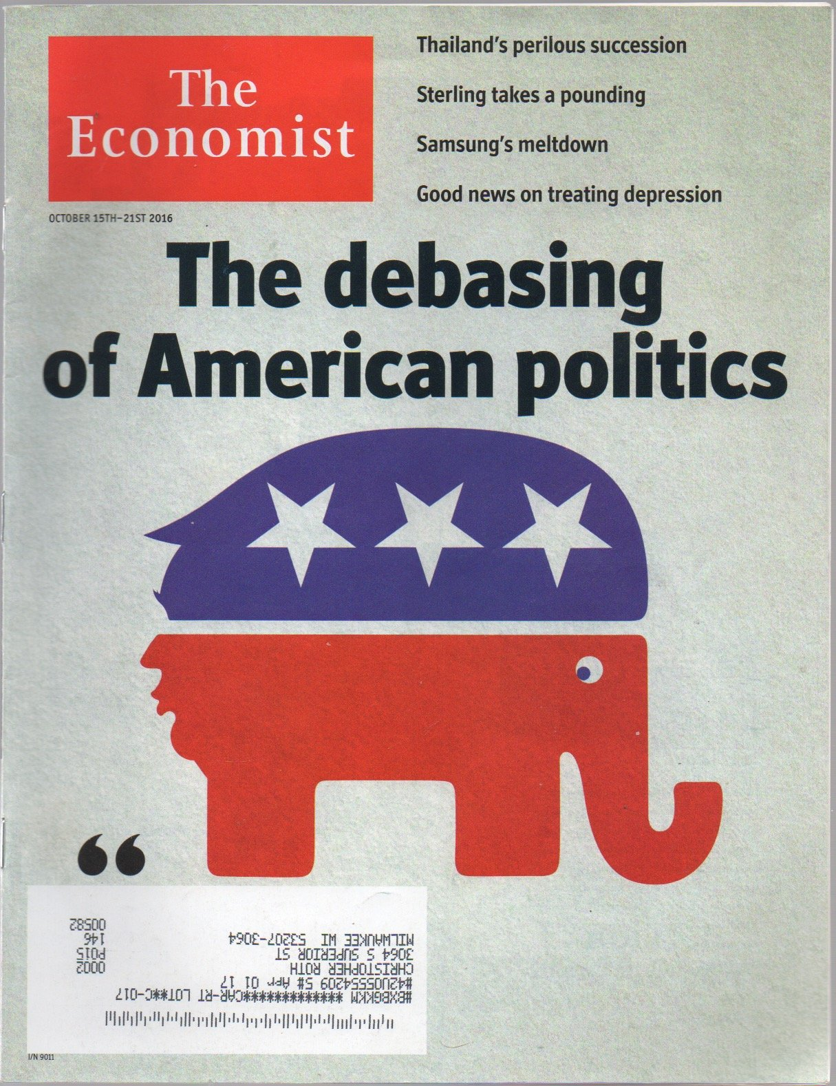 Download The Economist October 15th-21st 2016 PDF