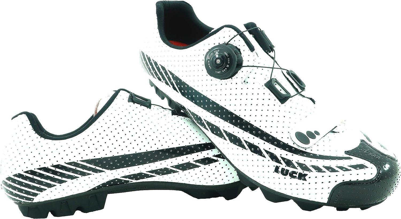 LUCK Zapatillas de Ciclismo Kratos MTB 2019, con Suela de Carbono ...