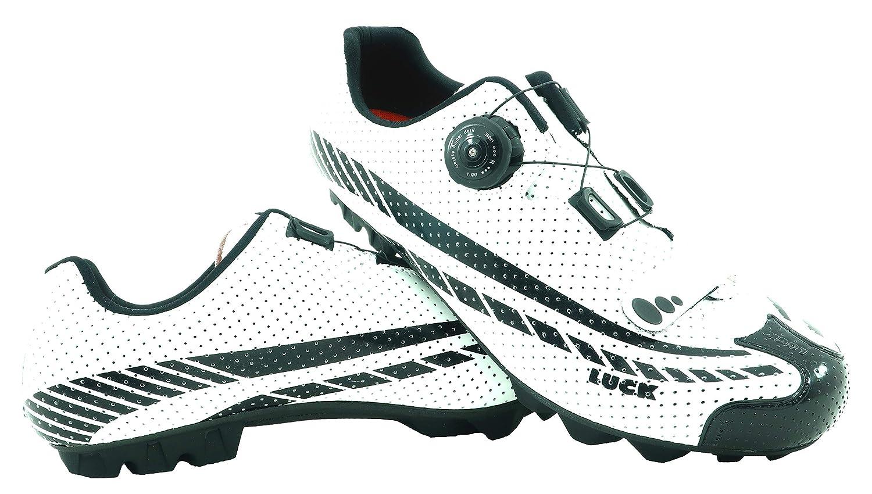 LUCK Zapatillas de Ciclismo Kratos MTB 2019, con Suela de Carbono y Sistema rotativo.: Amazon.es: Deportes y aire libre