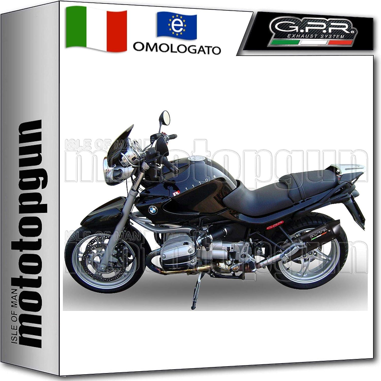 GPR BMW.9 C/âble d/échappement homologu/é pour BMW R 1150 R 2000 2001 01 2002 02 2003 03 2004 04 Noir
