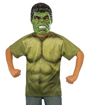 Kit disfraz Hulk Vengadores: La Era de Ultrón para niño - 5-7 años ...