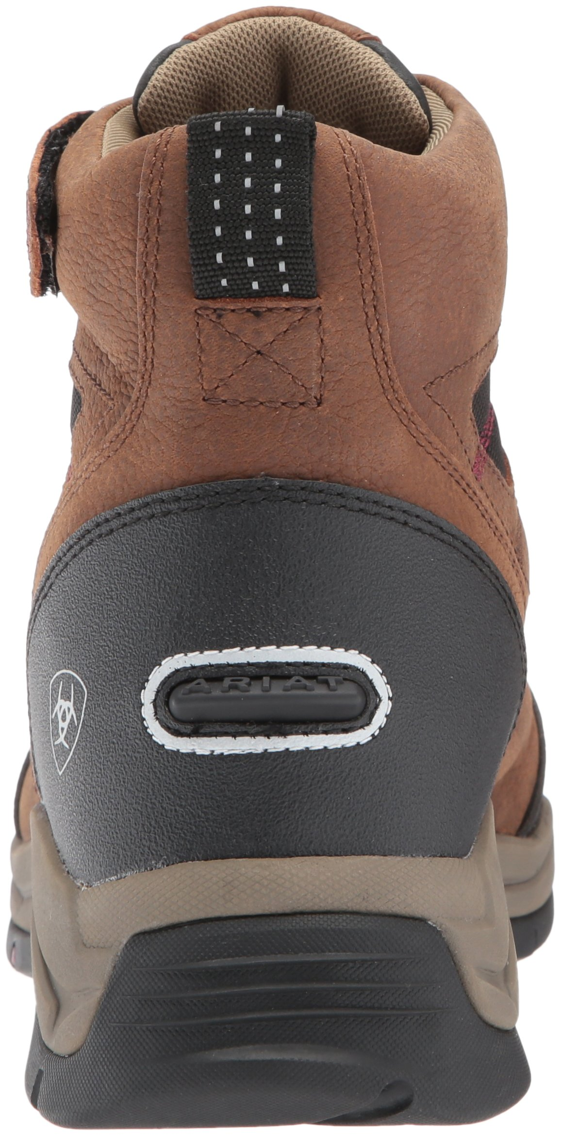 Ariat Women's Terrain Pro Zip H2O Work Boot, Brown, 7 B US by Ariat (Image #2)