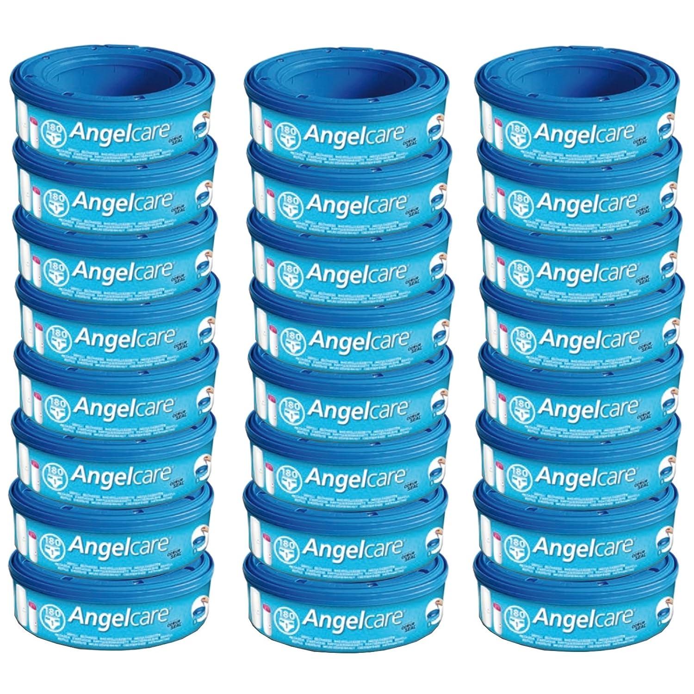 Deluxe Comfort Plus NEU Angelcare 9 Nachfüllkassetten für Windeleimer Comfort