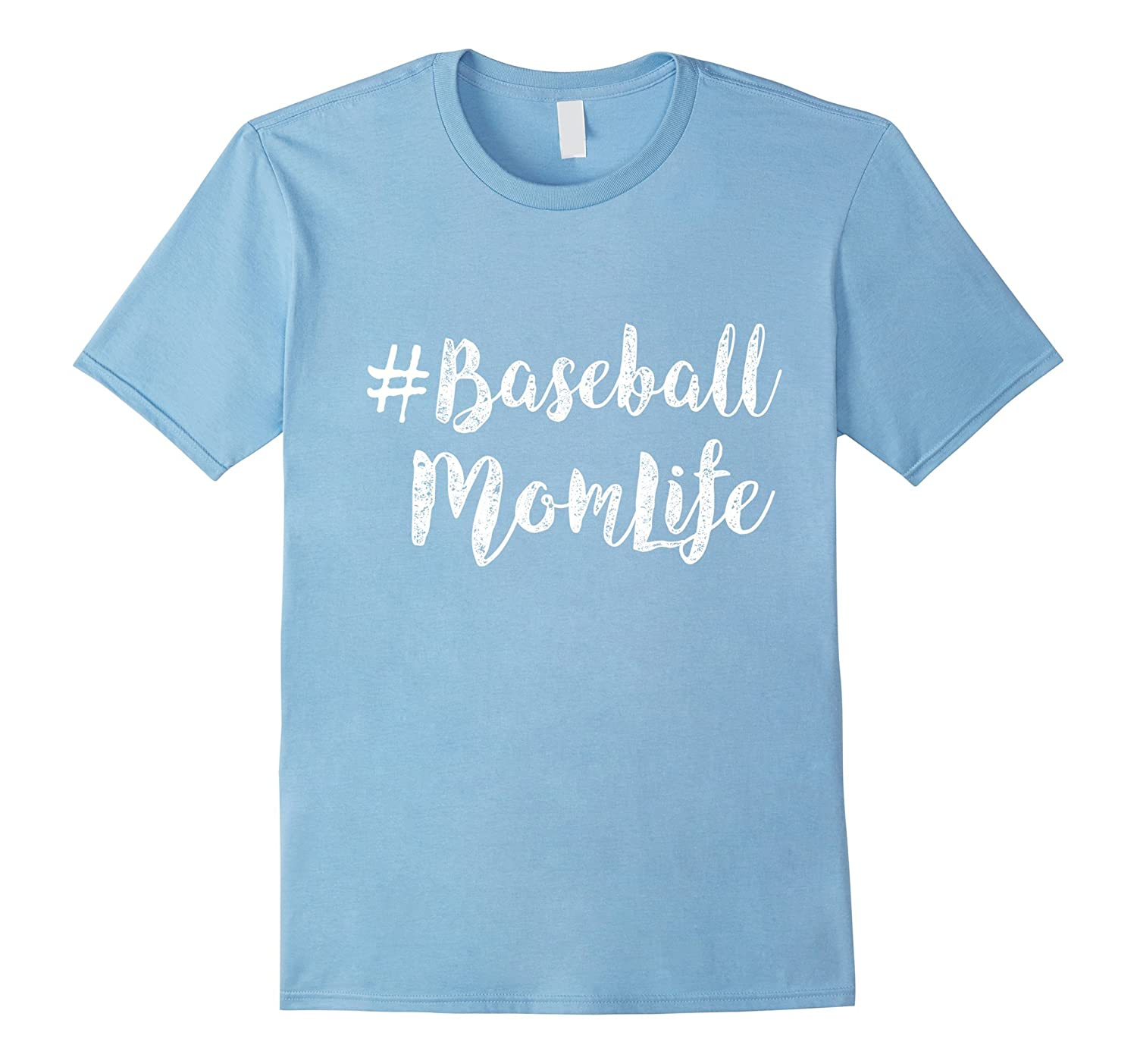 #Baseball Mom Life funny t-shirt-BN