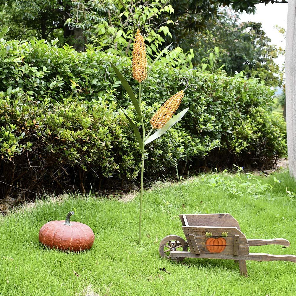 Estaca de metal para decoración de maíz de otoño y cosecha de maíz ...