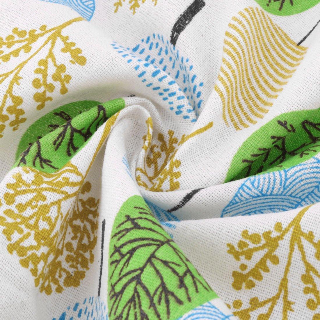 Amazon.com: Padrão DealMux linho Árvore Início Sofá Tabela Handmade Art Craft DIY pano de 1, 55 x 1M