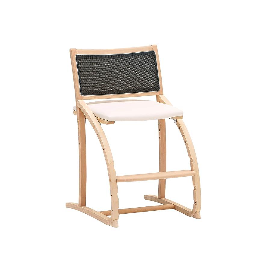 博物館栄養ひどくキッズチェア,petforu ベビーチェアー ダイニングベビーチェアー ダイニングチェア 学習椅子 ローチェア 小いす 木製椅子 椅子イス ナチュラル 高さ調節可能 おしゃれ 年齢1才 三色選択可能
