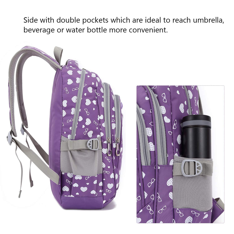 Amazon.com | Goldwheat Women Girls Backpack School Bookbag Shoulder Bag Daypack | Kids Backpacks