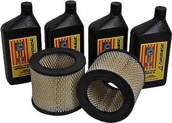 EMAX Compressor Kit de mantenimiento para compresores de aire de ...