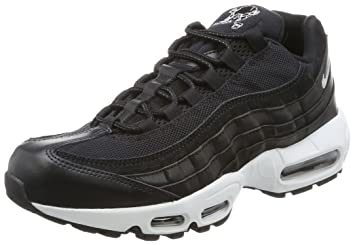 cozy fresh 4183c 63f7c Nike Air Max 95 Prm, Baskets homme, Noir (Black chrome-black