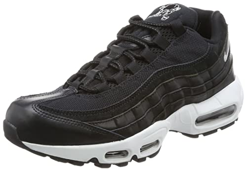Nike Air Max 95 Premium, Sneaker Uomo, Nero Chrome Black off