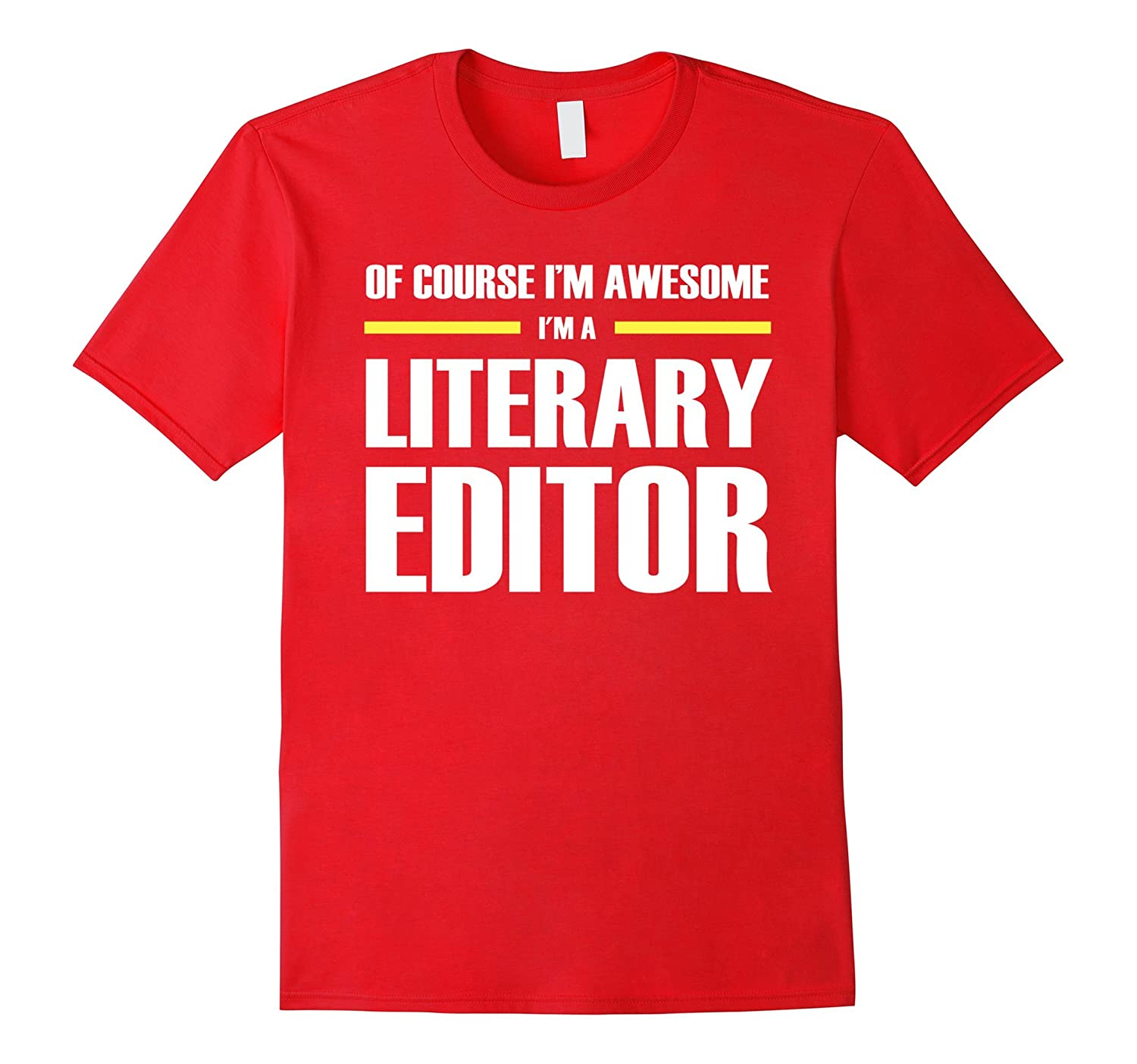 Literary Editor Shirts Im Awesome Relaxed Fit T-Shirt-PL