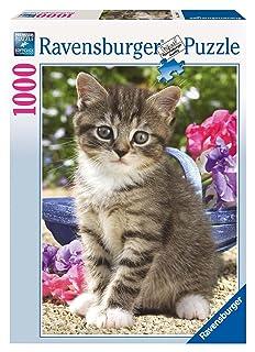 Ravensburger 15348 Gatto in giardino Puzzle 1000 pezzi Animali Ravensburger Italy AVDJ-71735