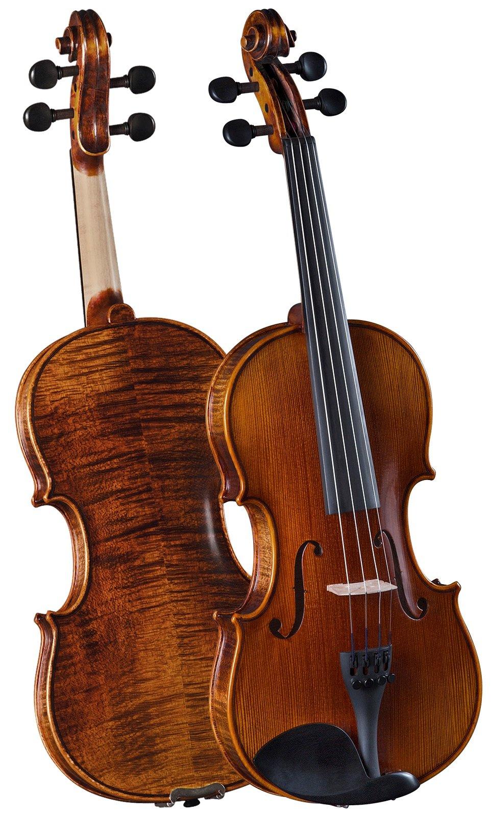 Cremona, 4-String Violin, Natural brown, Full (VLNSV588)