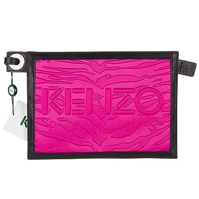 Kenzo pochette femme fucsia  Amazon.fr  Chaussures et Sacs 4a2b2bfd08b