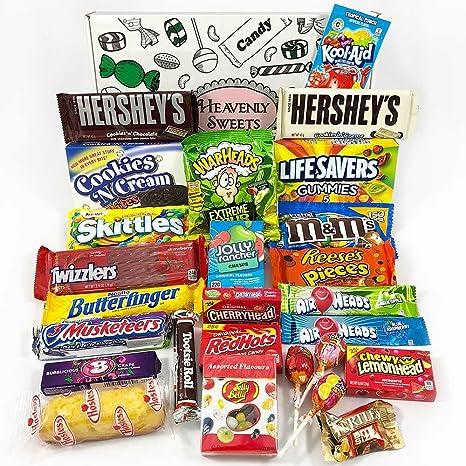 Großer Amerikanische Süßigkeiten Geschenkkorb   Süßigkeiten aus den ...