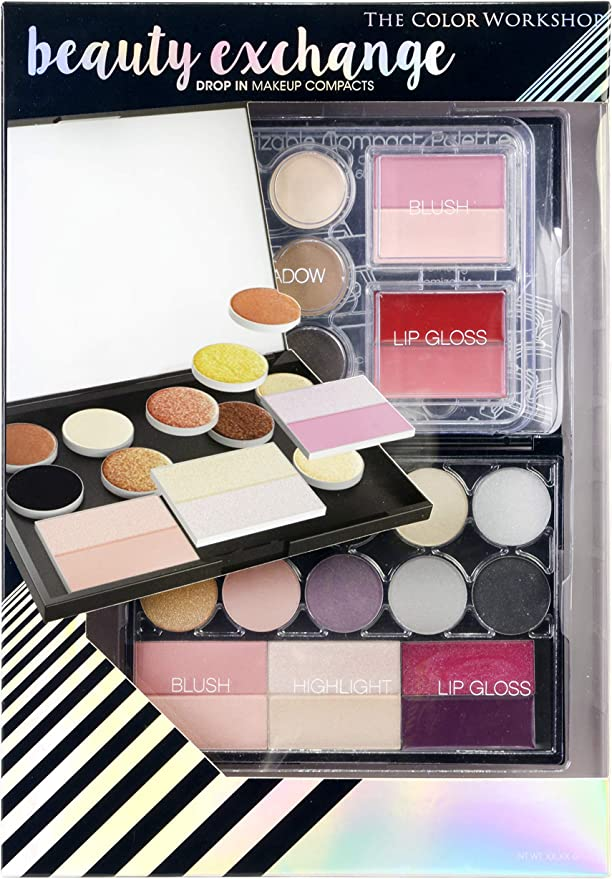 The Color Workshop TCW - Estuche de viaje para maquillaje, 27 piezas, color de viaje: Amazon.es: Belleza