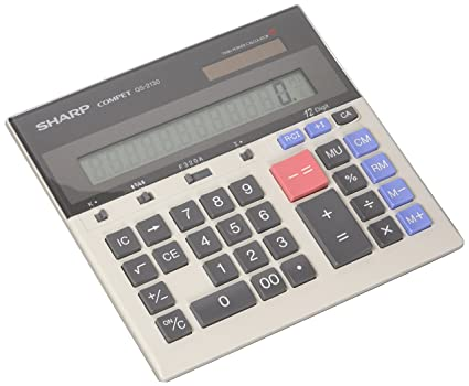 Measurement & Analysis Instruments Commercial Desk Calculator Standard Function 12 Digits Battery Powered Scientific Calculator For Office School Home Counters