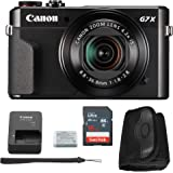 Canon G7x Mark II Digital Camera Bundle + Canon PowerShot g7 x Mark II Advanced Accessory Kit - Including EVERYTHING You Need To Get Started