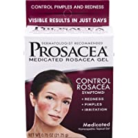 Prosacea Medicated Rosacea Gel – Controls Rosacea Symptoms of Redness, Pimples &...