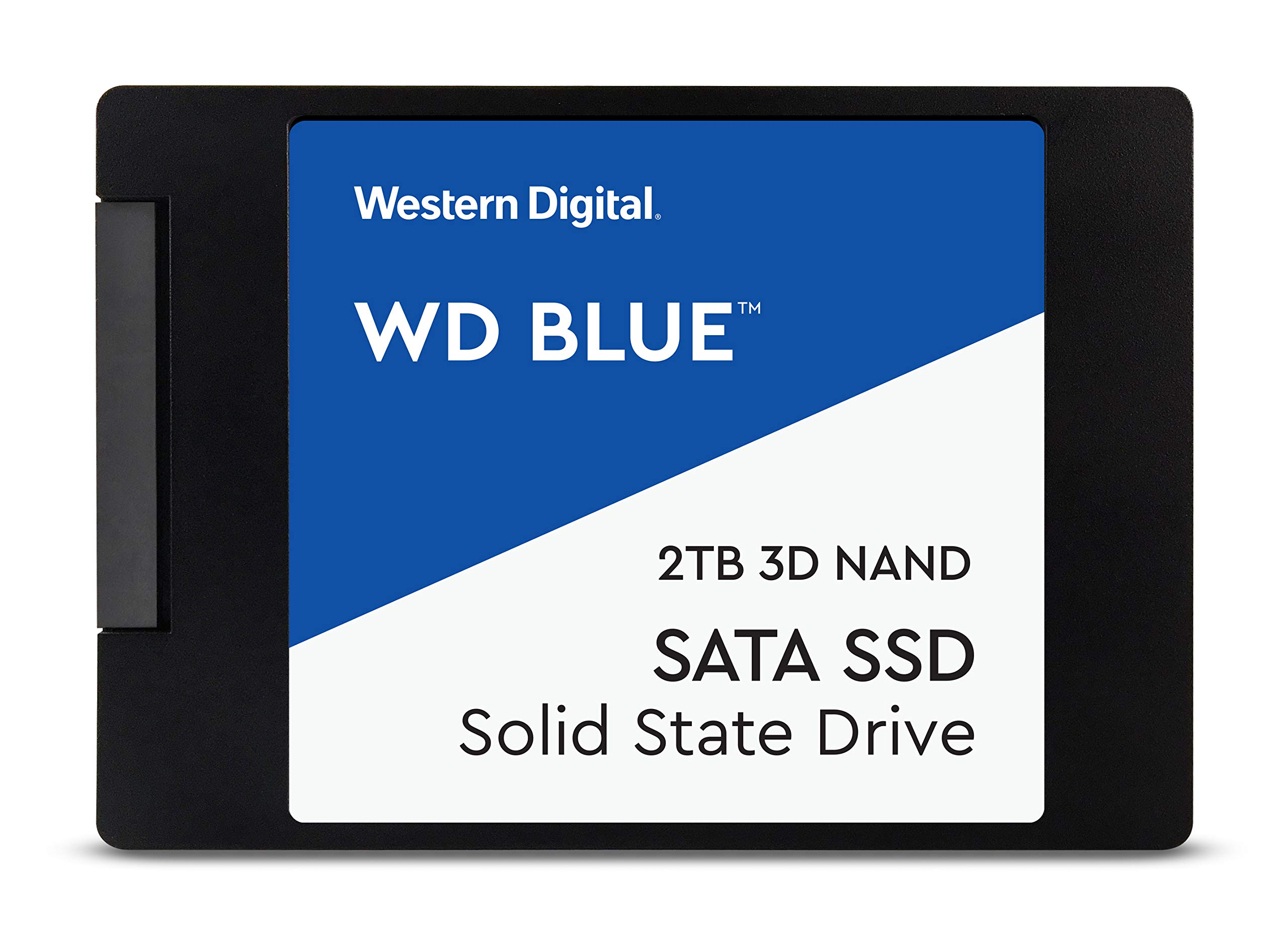 WD Blue 3D NAND 500GB PC SSD - SATA III 6 Gb/s, 2.5''/7mm - WDS500G2B0A