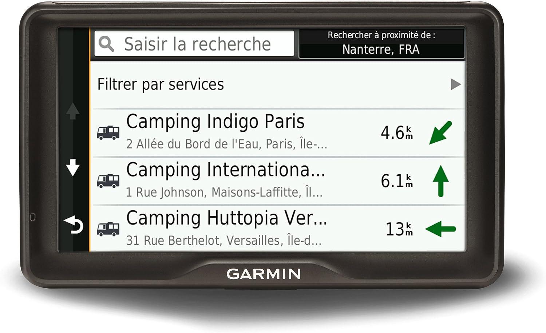 para la UE, Pantalla TFT de 7, 17,8 cm, 800 x 480 p/íxeles, Ranura para Tarjeta SD Sistema de navegaci/ón GPS Reacondicionado Certificado Negro Garmin 760LMT-D