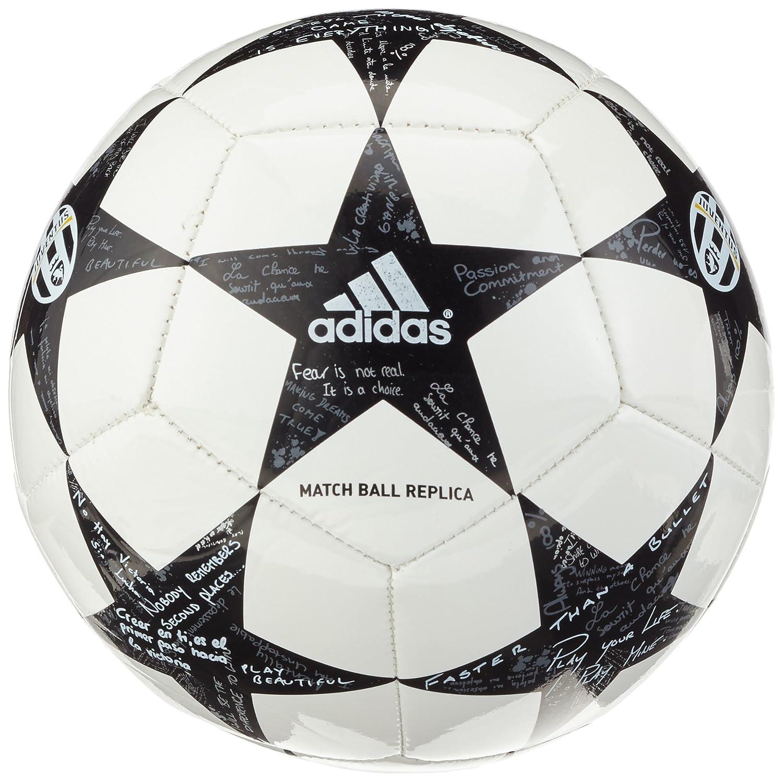 adidas Finale16Juventusmin Balón de Fútbol, Hombre, Blanco (Blanco ...
