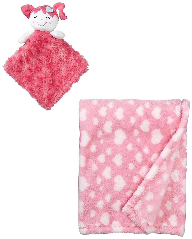 Amazon.com : Baby-Girls recién nacido de 2 piezas Corazón Swirl ...