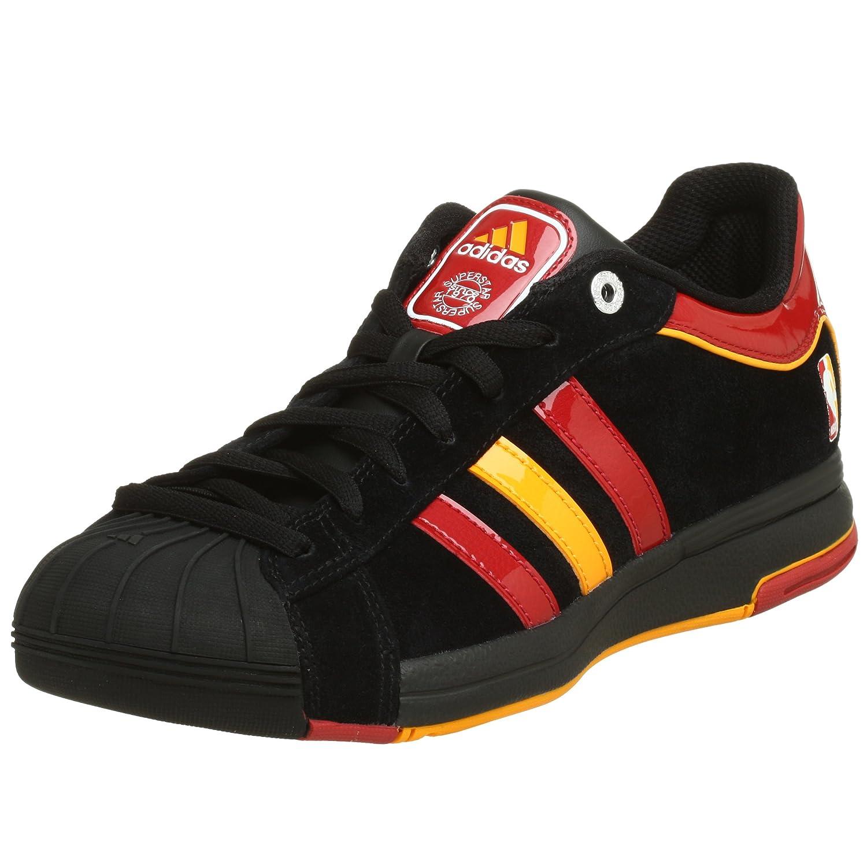 relajarse superficial Aliado  Buy adidas Men's 2G08 Miami Heat Basketball Shoe, Black/Garnet/Gold, 14 M  at Amazon.in