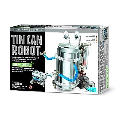 4M 4153 Kidz Labs Tin Can Robot: Toys & Games
