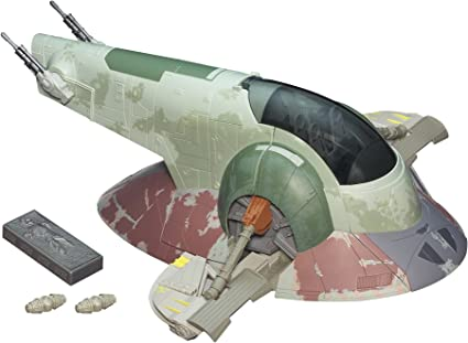 Amazon Com Star Wars The Empire Strikes Back Slave I Boba Fett S Spaceship Vehicle Amazon Exclusive Toys Games